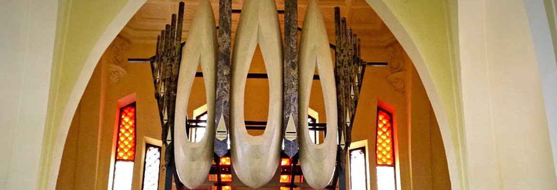 Órgano monumental de mármol de Novelda