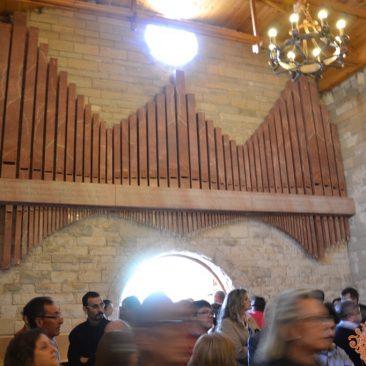 El organo mural de mármol